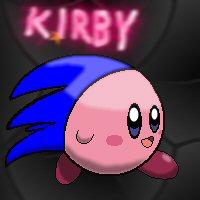 Kirby The Hedgehog by Binarin