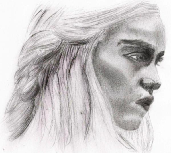 Daenerys Targaryen by charlottina