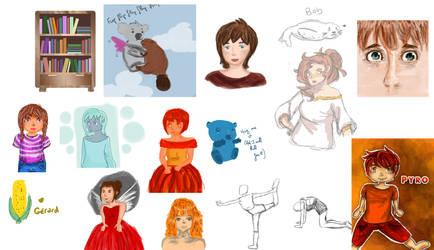 Sketch, sketch, sketch dump