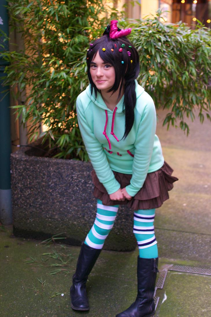 Vanellope von Schweetz: The Little Candy Girl by AnyaPanda