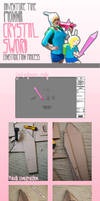 Fionna Crystal Sword Construction Process