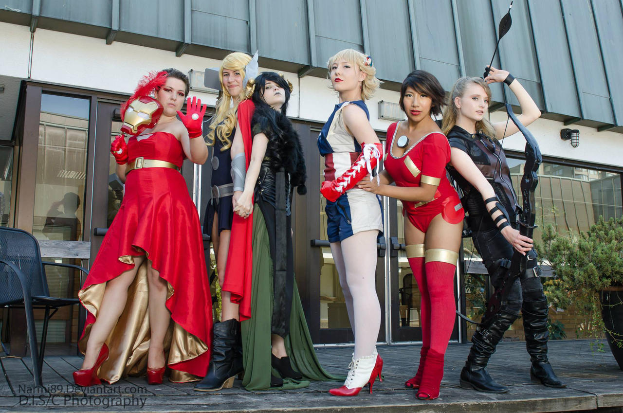 The Avengerettes [Cos and Effect 2013] by AnyaPanda