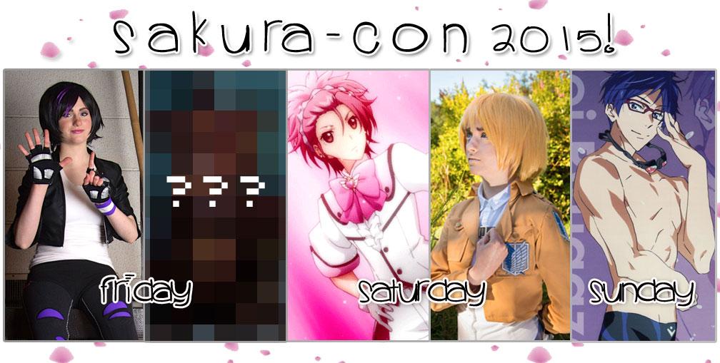SakuraCon2015Lineup by AnyaPanda