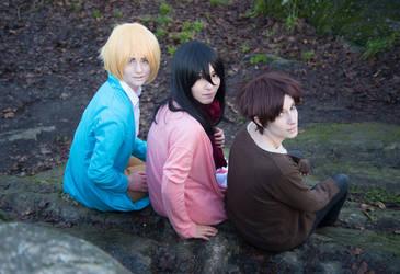 Shingeki no Kyojin: Childhood Innocence by AnyaPanda