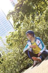 Rei Ryugazaki: Dive and Fly by AnyaPanda