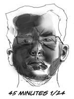 Sunday is Self Portrait Day by Brain-Camera-Studio