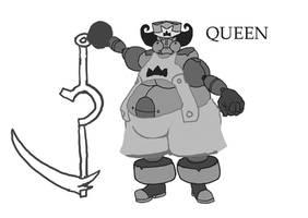 Queen - King's Fat Girl Mecha