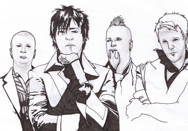 Three Days Grace by the13thmember