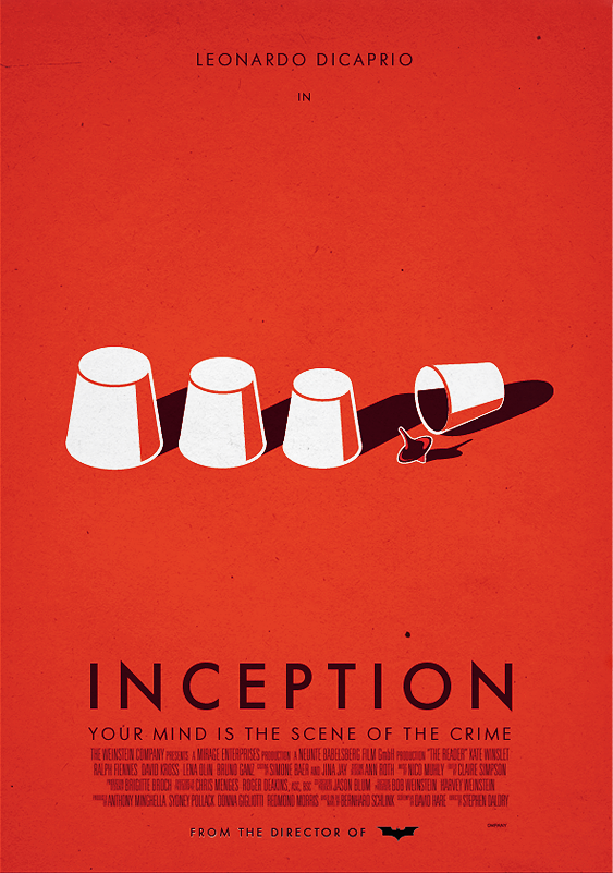 inception poster by dioxyde on deviantart
