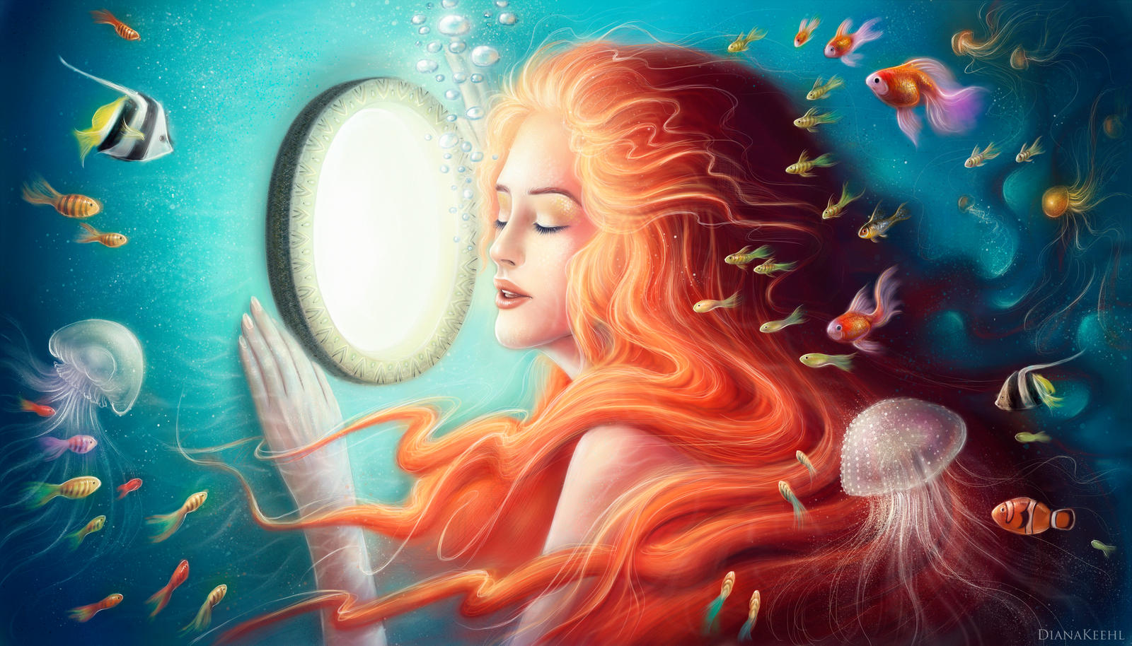 How to Draw An Underwater Scenery for Beginners  Step By ...  Underwater World Drawings