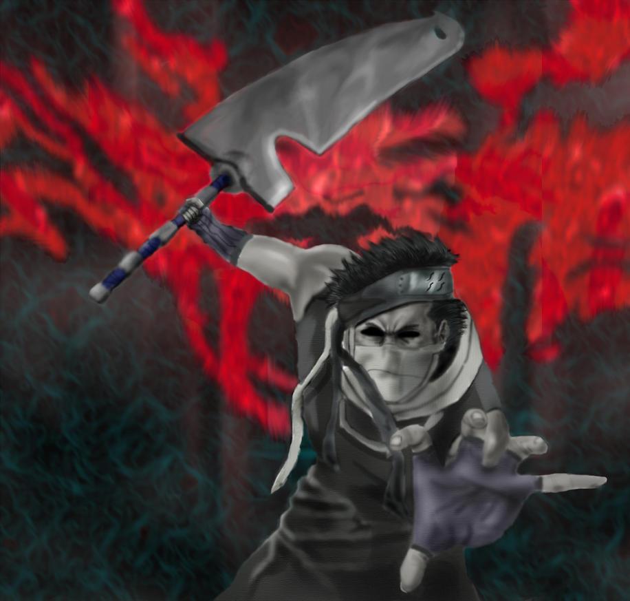 Zabuza the demon of hidden  Zabuza Demon Mode