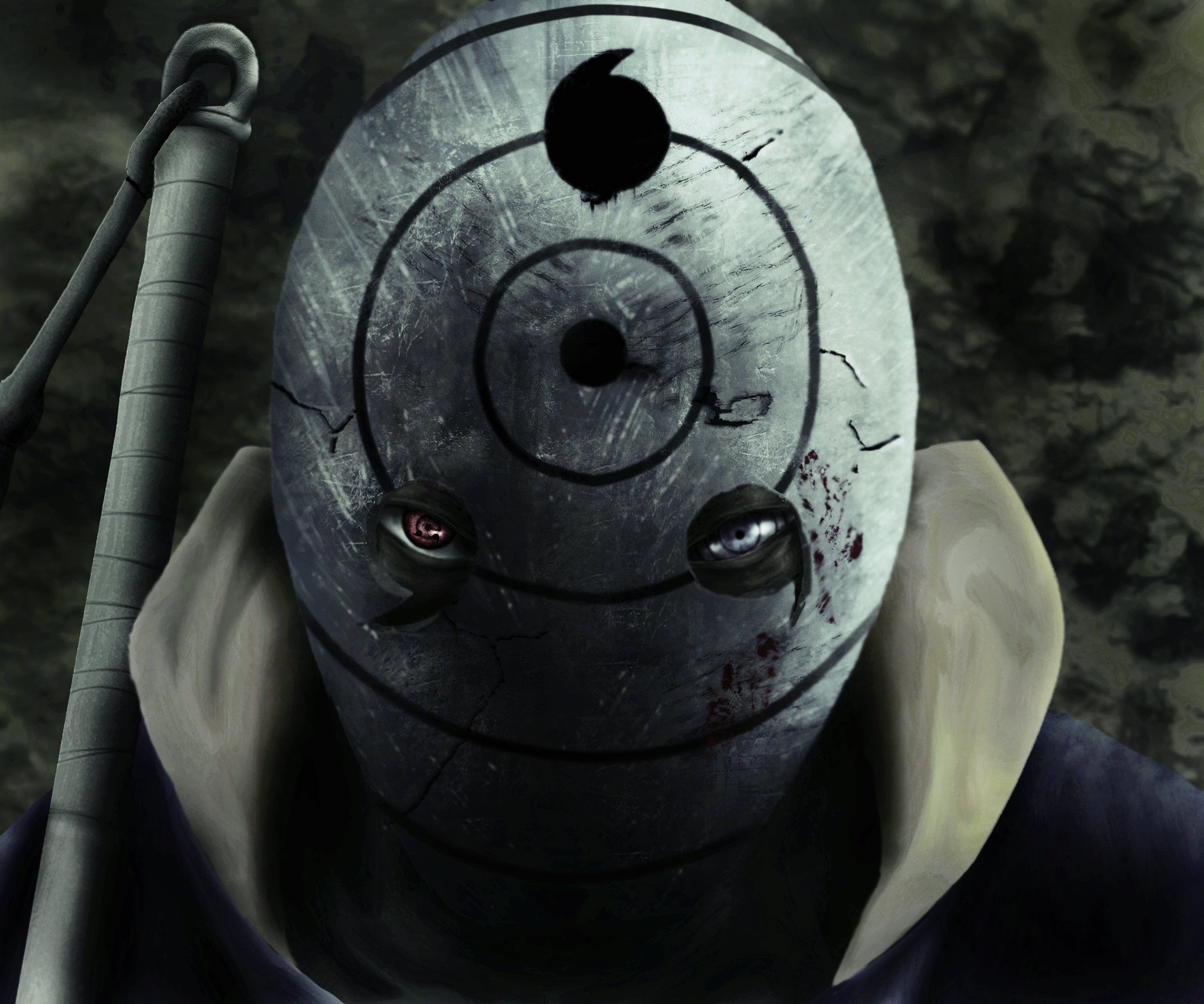 Uchiha Obito Mask Masked Obito by...
