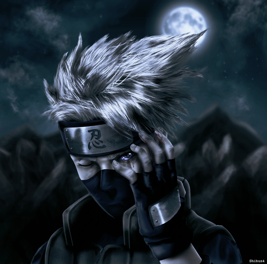 Kakashi Rinnegan eye by Shibuz4