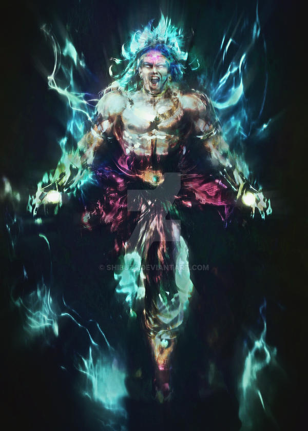 Dbz - Broly real life concept by Shibuz4