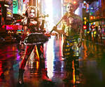King Joker and Harley Quinn - fanart final version
