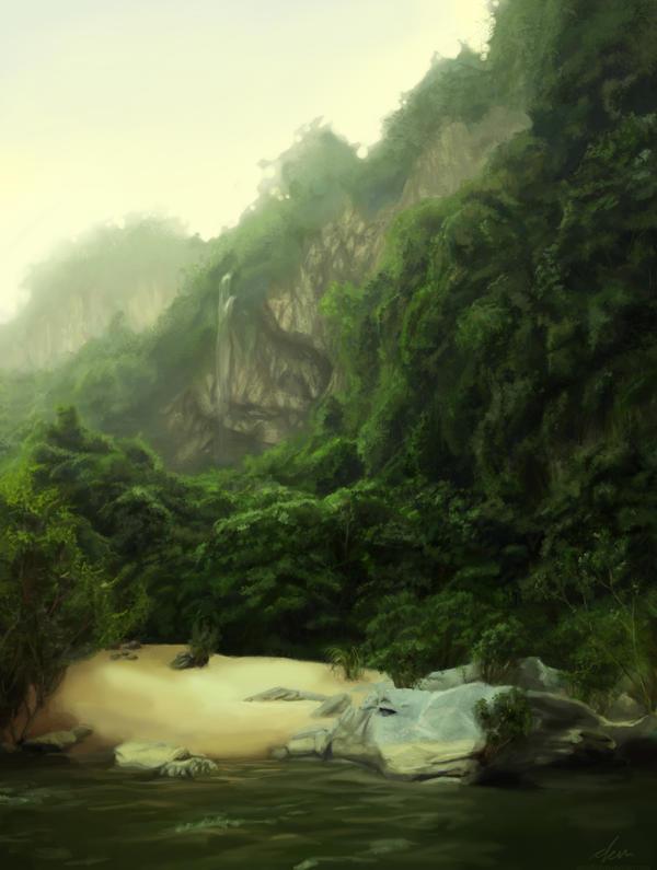 Jungle Practice by dem888