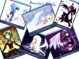 Amuria's Angels by Midnight-Dark-Angel