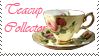 Stamp: Teacup Collector by Midnight-Dark-Angel