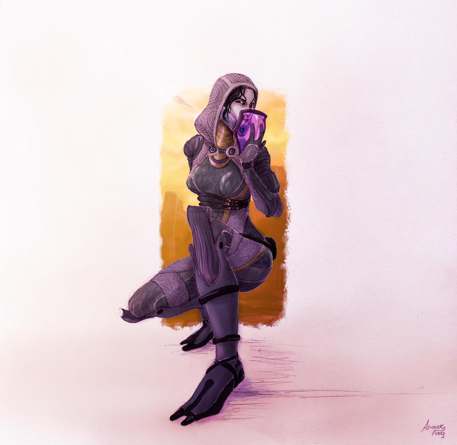 [Mass Effect] Tali'Zorah by Amaryan