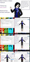 MMD PMX How to Clean Up Models by RitaLeader14