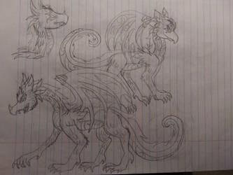 Striterra and Triterra Dragons