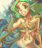 mermaid. by nukuri