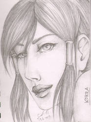 Korra, the water-tribe avatar by SamurajDreamer