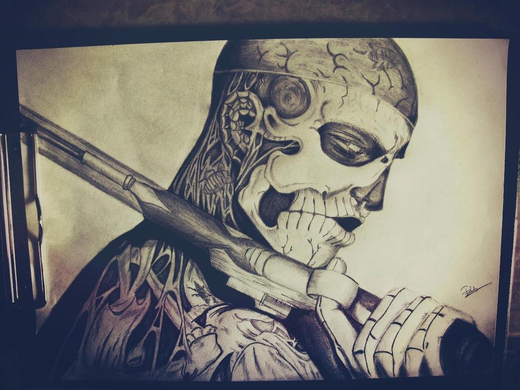 Zombie boy by Tedi1302
