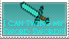 I can swing my Sword Stamp by M41Aconner