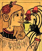 Iv - Art nouveau mademoiselle. by Team4Taken