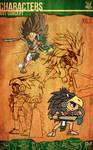 Aztec Xilo_Art Concept - Xilo