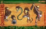 Aztec Xilo_Art Concept - Xilo Transformations