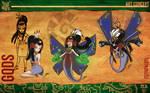 Aztec Xilo_Art Concept - Itzpapalotl