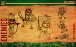 Aztec Xilo_Art Concept - Tlaxcalan Warriors