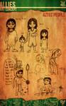 Aztec Xilo_Art Concept - Aztec People
