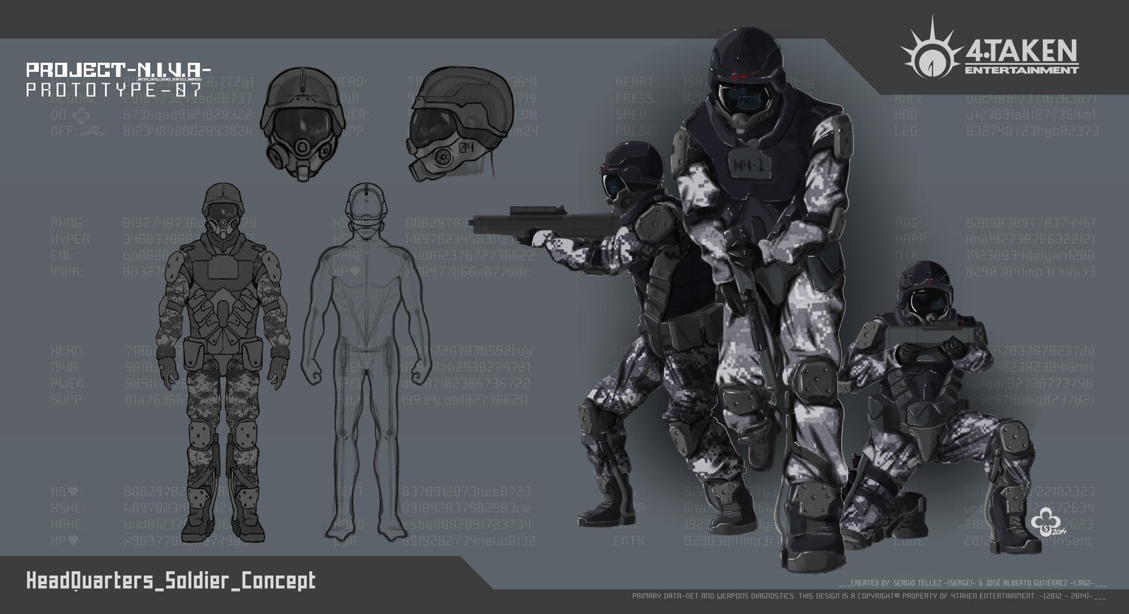 Project NIVA_Soldiers-Concept