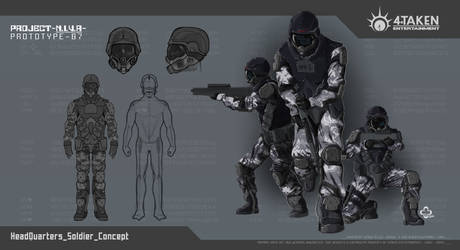 Project NIVA_Soldiers-Concept by Team4Taken