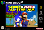 Sonic And Mario All Star Jam (Box Art Mockup)