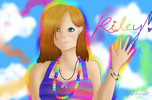 Riley Rainbow Eyes by xKDawnx