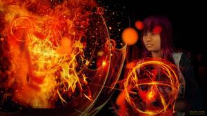 Eternal flame by budo-san