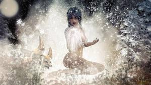 Magical snow by budo-san