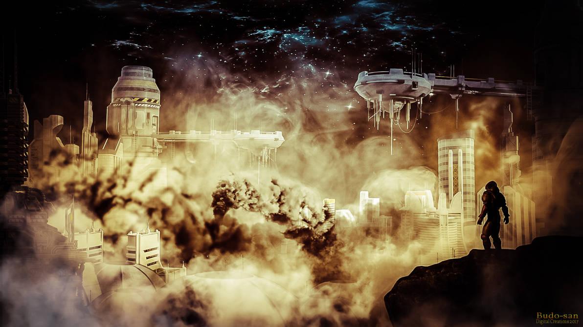 Cloud city by budo-san