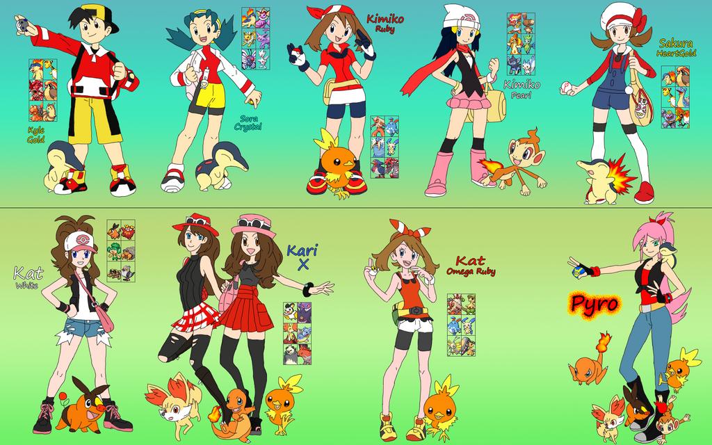 Pokemon Adventure Timeline Thing by DigiFoxCat on DeviantArt