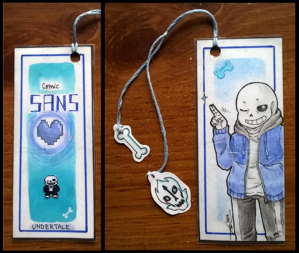 Sans bookmark by Kamikoroshu
