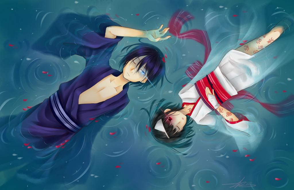Nora and Kami by Kamikoroshu