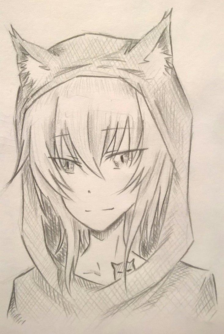 Neko Hood by Kamikoroshu