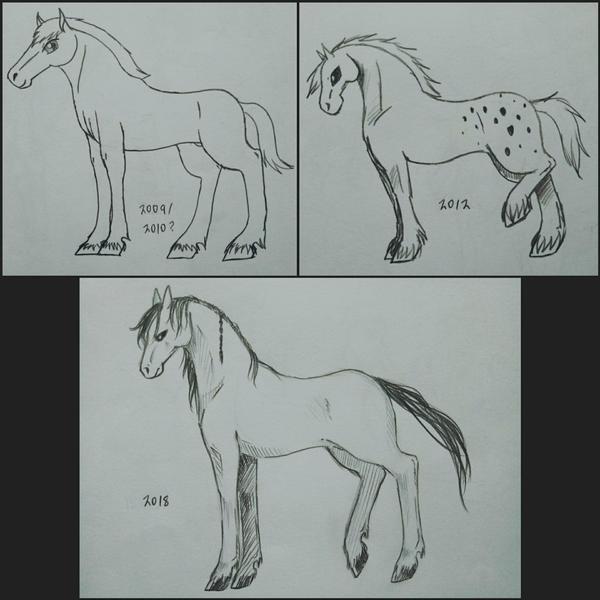 Horses by Kamikoroshu
