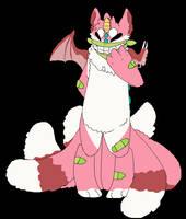 dragon/kitsune hybrid adopt by fawnself