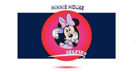 Minnie selfie time by Yuna-Ina