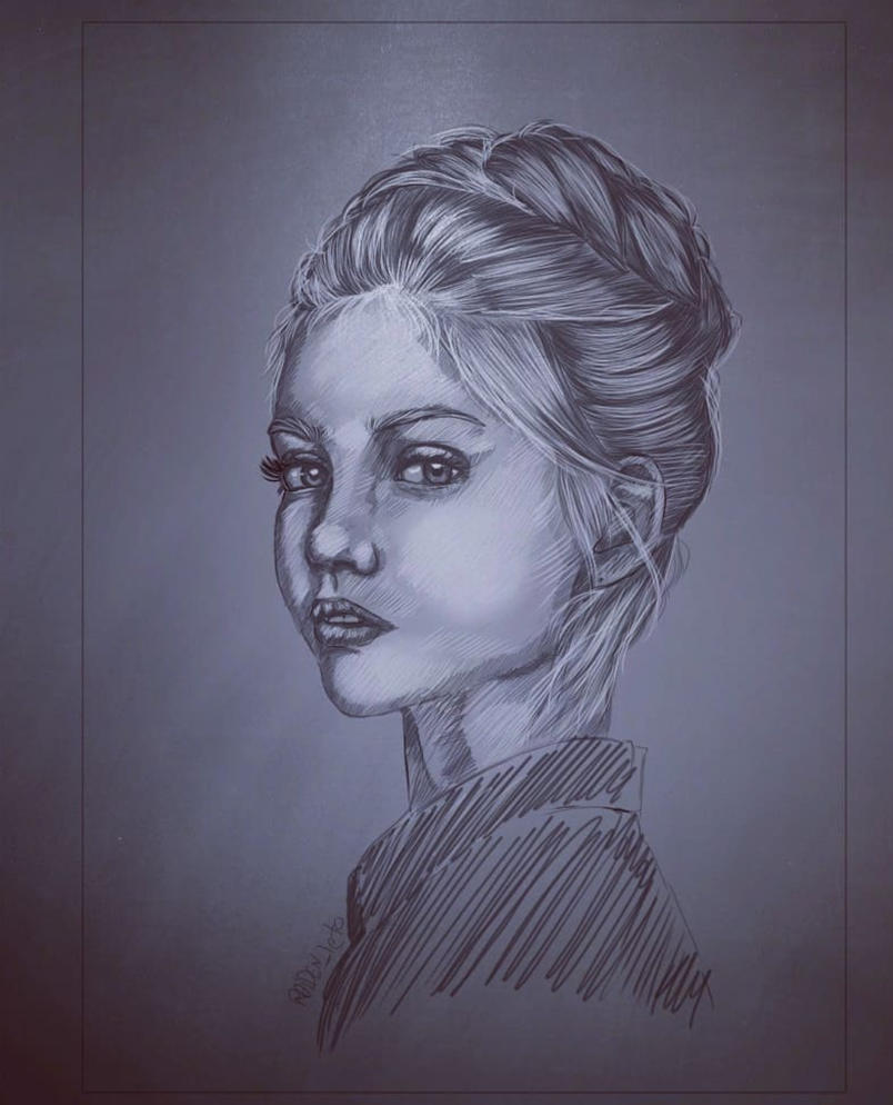 littil girl by RAIDENleto96